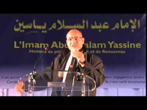 Abdelhakim Yahya rend Hommage à L'Imam Abdessalam Yassine