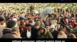 Muhammed Abbadi's speech at the funeral of  Imam Abdessalam Yassine -God have mercy on him.