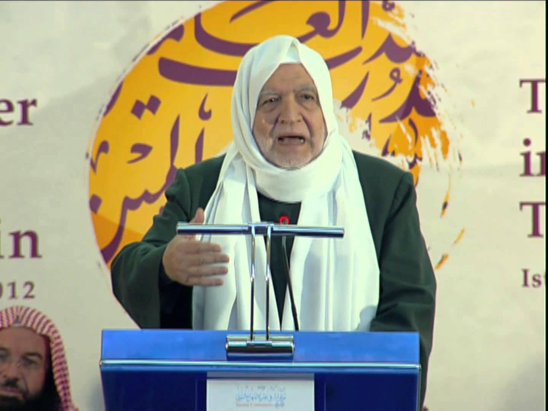 كلمة الشيخ أسامة الرفاعي، رئيس رابطة علماء الشام، في الحفل الختامي للمؤتمر