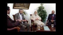 حوار مع الإمام المجدد حول التنظيم