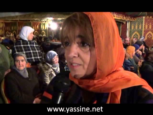 تصريح السعدية الولوس حول وفاة الإمام المجدد ياسين