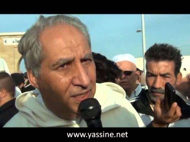 تصريح خاليدي محمد حول وفاة الإمام المجدد ياسين