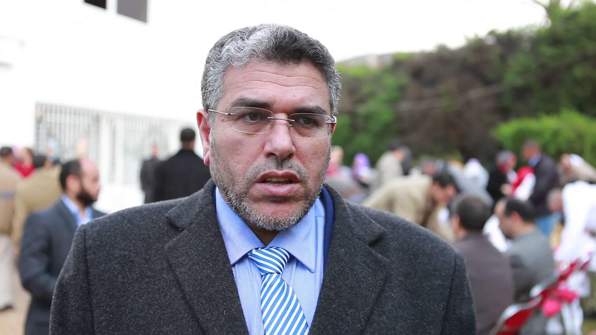 تصريح ذ. الرميد إثر وفاة الإمام المجدد عبد السلام ياسين