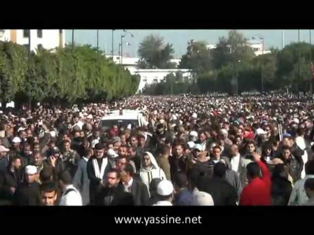 تشييع الإمام المجدد عبد السلام ياسين