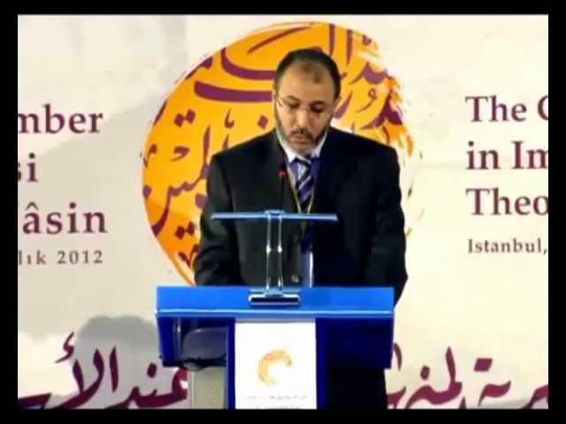 ذ. حمدواي رئيس المؤتمر.. الكلمة الافتتاحية