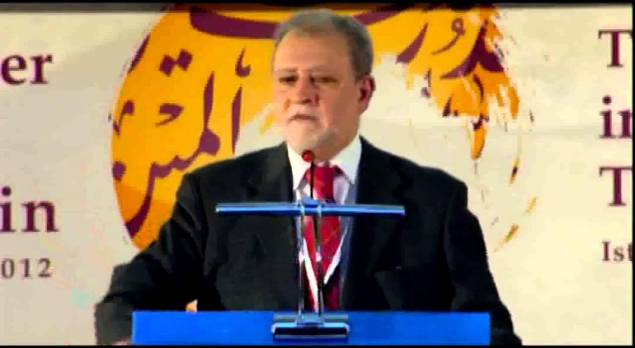 كلمة عزام التميمي في افتتاح المؤتمر
