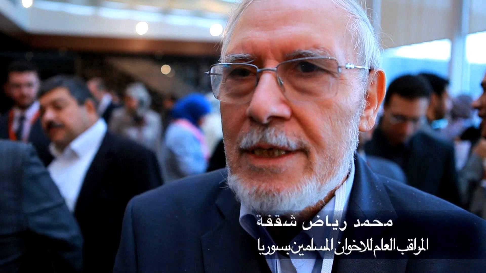 قالوا عن المؤتمر – محمد رياض شقفة