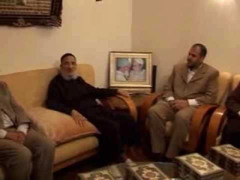 استقبال المرشد للإخوة السجناء بعد الإفراج عنهم